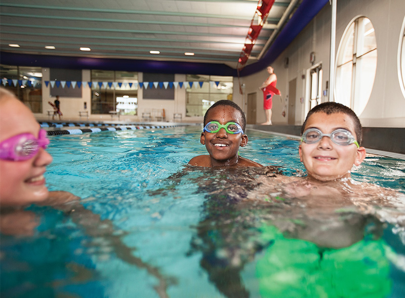 School-Aged Childrens Swim Lessons at the Lynchburg Va YMCA