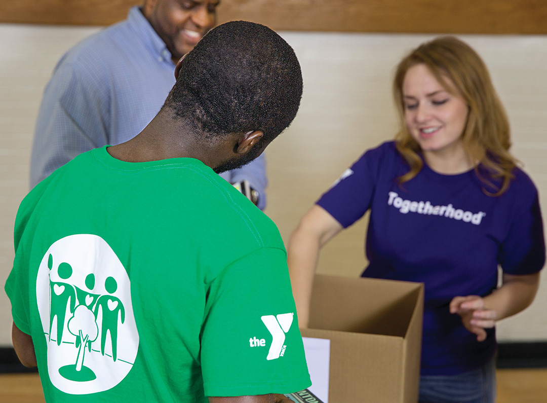 Volunteer at the Y Community Service