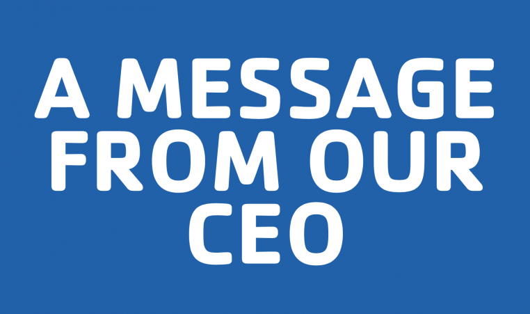 MESSAGE CEO